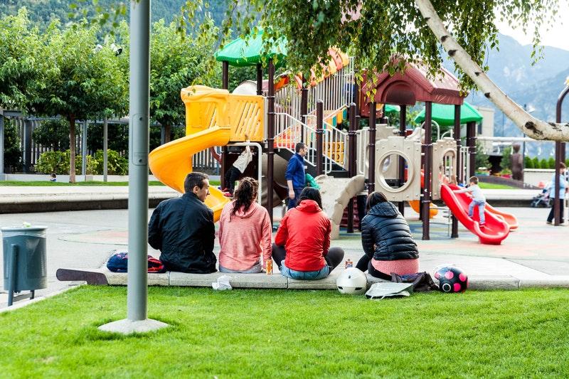 Det sociale liv på legepladsen